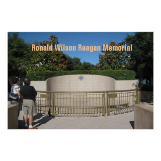 Poster: Ronald Reagan's Final Resting Place