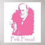 Poster rosado de Freud