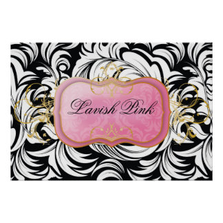 poster rosado de la placa 311-Lavish Póster