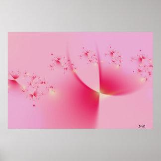 Poster rosado de los duendecillos