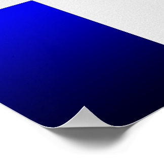 Poster Royal Blue-Dark Blue Gradient