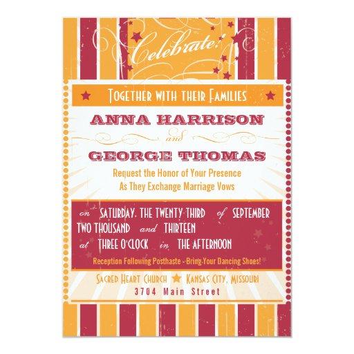 Poster rústico: Boda de encargo rosado y Invitaciones Personales