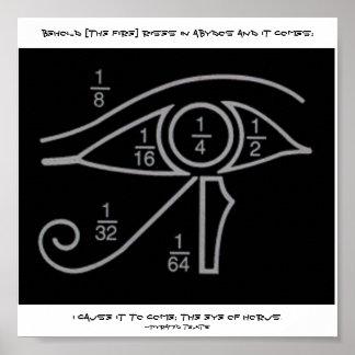 Poster sagrado de la geometría