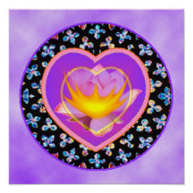 Poster sagrado del corazón