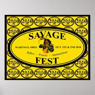 poster salvaje 2010 del fest más grande