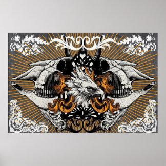 Poster salvaje de Eagle
