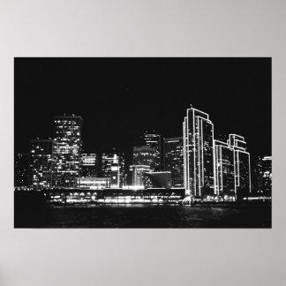 Poster San Francisco at night 1 of 2
