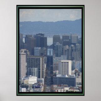Poster - San Francisco Financial District