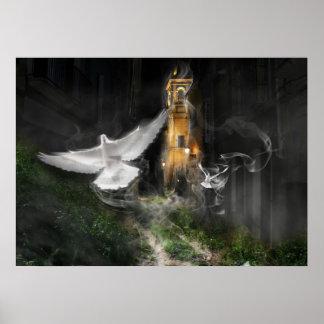 Poster Santa fog - Fog Santa/Promodecor