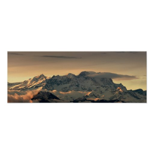 Poster santo de la montaña