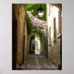 POSTER - santo Rémy-de-Provence