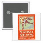 Poster septentrional 1913 de los juegos de Estocol Pins