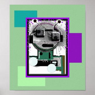Poster sinónimo de siete robots