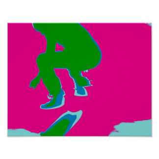 Póster Skater pop especie