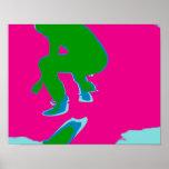 Póster Skater pop especie Poster