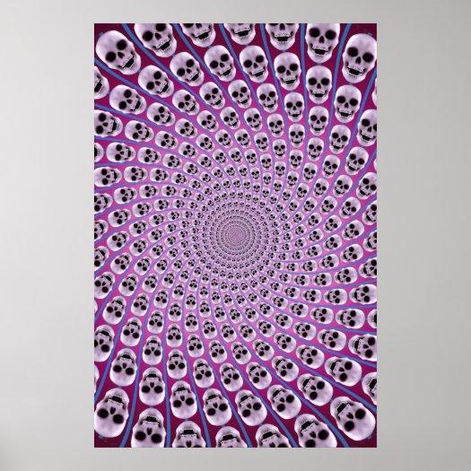 http://rlv.zcache.com/poster_skull_spiral_trippy_design_purple_violet-p228218029310350235tdad_525.jpg