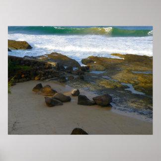 Poster Snapper Rocks Afternoon 2 Australia