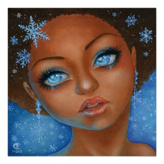 Poster - Snow Flake