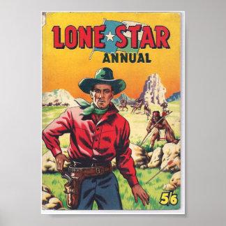 Poster solitario de la publicación anual de la est