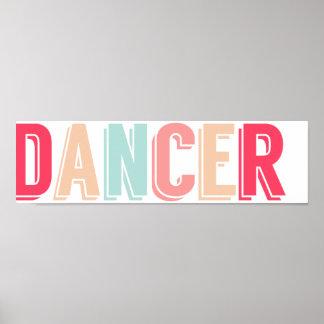 Poster soñador del bailarín