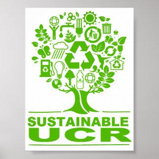 Poster sostenible de UCR
