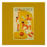 Poster-Sports/Games-Vintage Sports Art 8