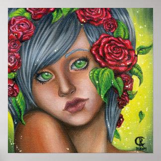 Poster - Spring Rose
