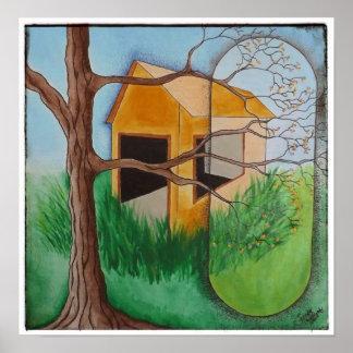 POSTER: Springtime Barn