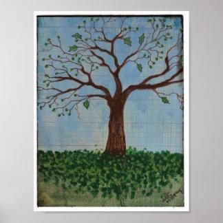 POSTER: Springtime Tree
