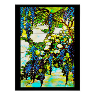 Poster-Stained Glass-Louis Tiffany 103 Poster