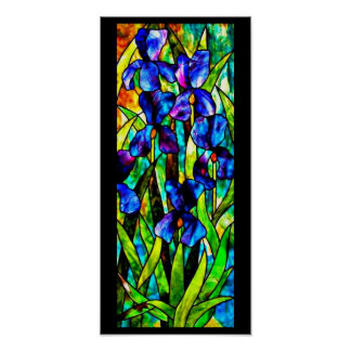 Poster-Stained Glass-Louis Tiffany 107 Poster
