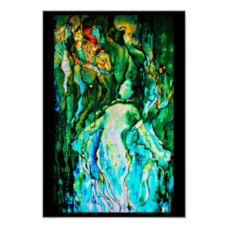 Poster-Stained Glass-Louis Tiffany 110 Poster
