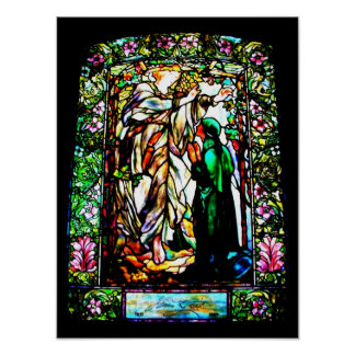 Poster-Stained Glass-Louis Tiffany 111 Poster