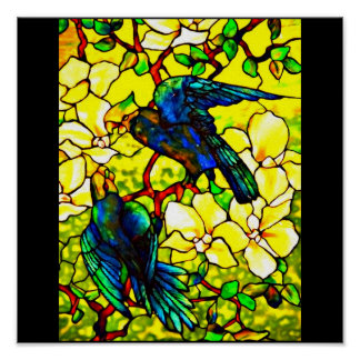 Poster-Stained Glass-Tiffany 15 Poster