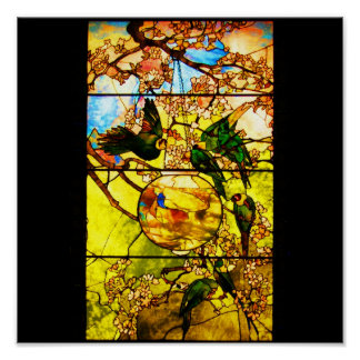 Poster-Stained Glass-Tiffany 1 Poster