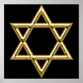 Poster Star of David
