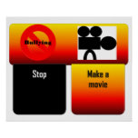 poster stop bullying make a movie