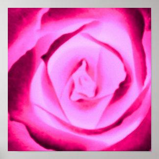 Poster subió rosas fuertes