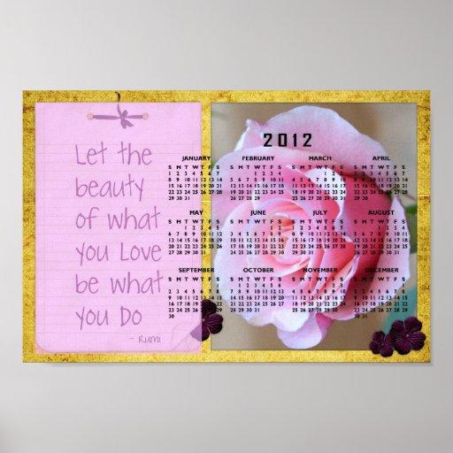 Poster subió Rumi inspirado del calendario de la b