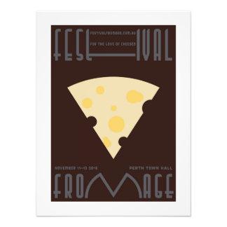 """Poster """"suizo"""" del queso - foto mínima fotografía"""