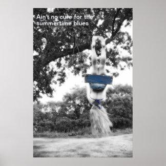 Poster - Summertime Blues