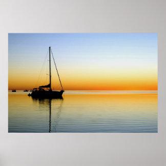 poster sunset_sailing A PARTIR del 8,99