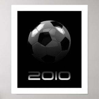 Poster superior 2010 del fútbol