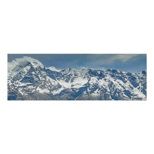 Poster Swiss Alps