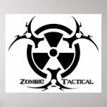 Poster táctico del zombi