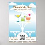Poster Template Beachside Bar