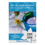 Poster Template Blue Spa