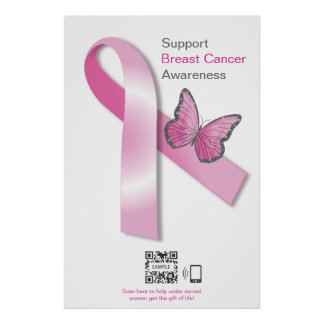Poster Template Breast Cancer Awareness