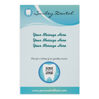 Poster Template Dental Care