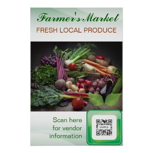 Poster Template Farmer's Market